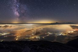 MILKY WAY ABOVE THE JULIAN ALPS