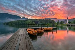 LAKE BOHINJ AT SUNRISE